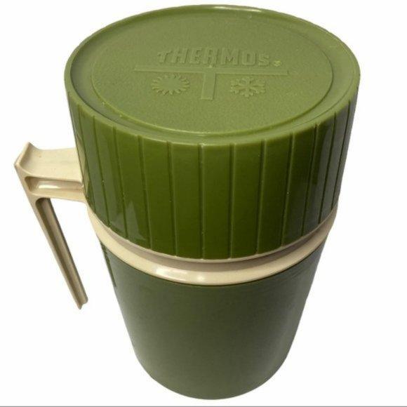 VTG Thermos Avocado Green 10oz 1970s King-Seeley